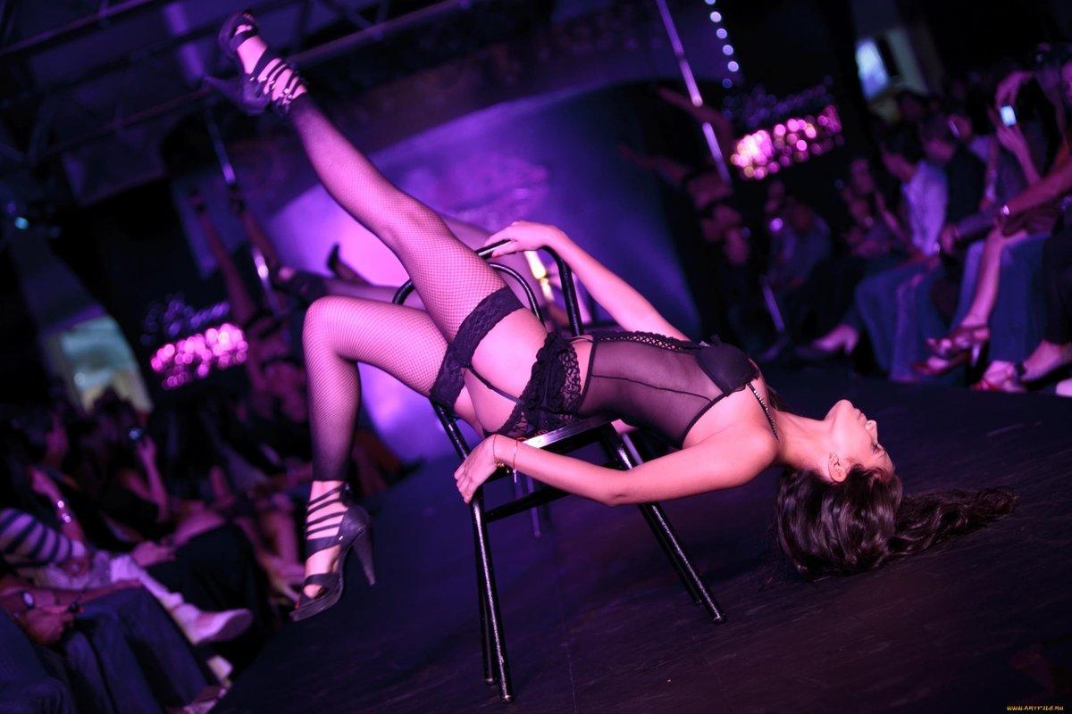 Strip club dancer